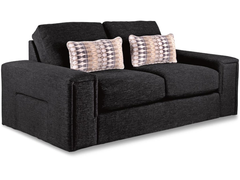 La-Z-Boy Structure Modern Apartment-Size Sofa with Architectural ...