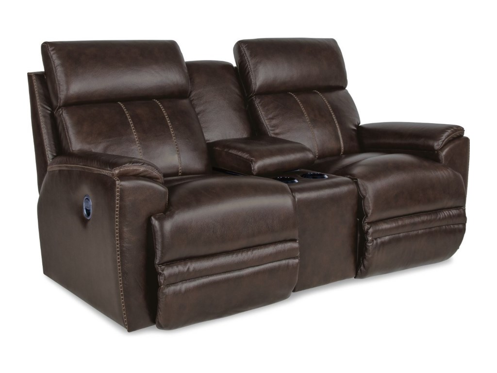 La-Z-Boy TalladegaLa-Z-Time Full Reclining Loveseat w/ Console