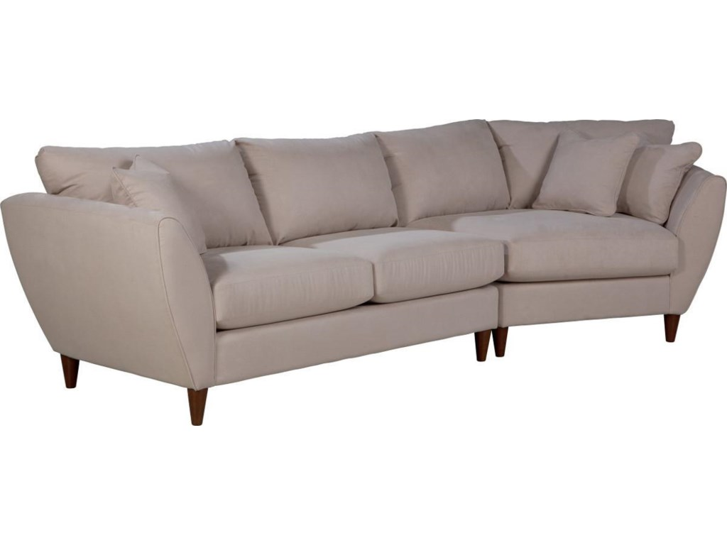 La-Z-Boy Tribeca2 Pc Sectional Sofa with LAS Cuddler