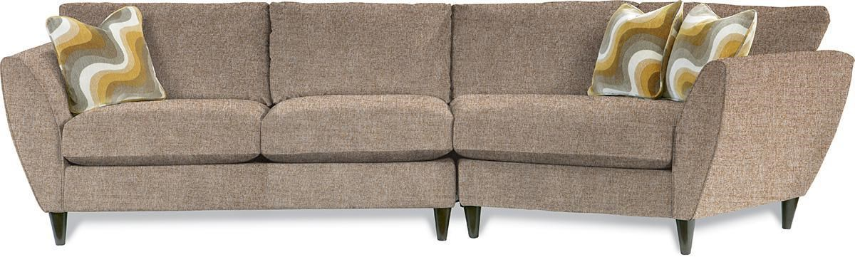 Ordinaire La Z Boy Tribeca2 Pc Sectional Sofa With LAS Cuddler ...