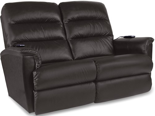 La-Z-Boy Tripoli Power-Recline-XRw+ Wall Saver Reclining Loveseat with Power Tilt Headrest and Lumbar