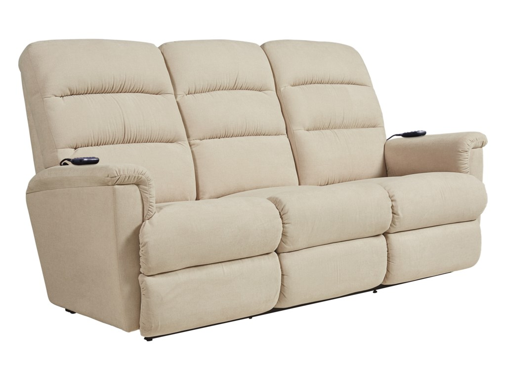 La Z Boy Tripoli Power Recline Xrw Wall Saver Reclining Sofa With