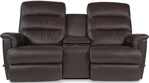 La-Z-Boy Tripoli Wall Saver Reclining Loveseat with Cupholder and Storage Console