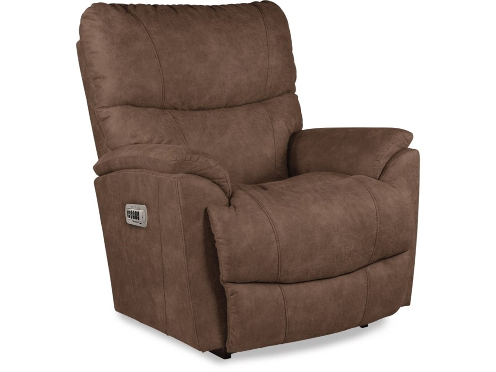 La-Z-Boy TrouperPower Rocking Recliner w/ Headrest & Lumbar