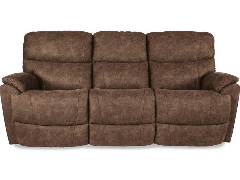 La-Z-Boy Trouper Power Reclining Sofa with USB Charging Ports ...