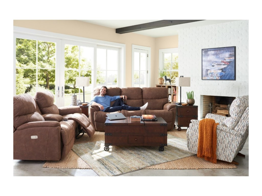 La-Z-Boy TrouperPower La-Z-Time Full Reclining Sofa
