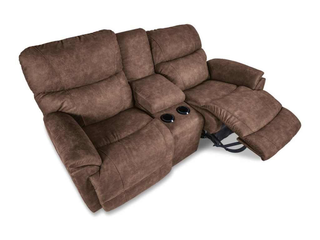 La-Z-Boy TrouperPower La-Z-Time® Full Reclining Love w/Cons