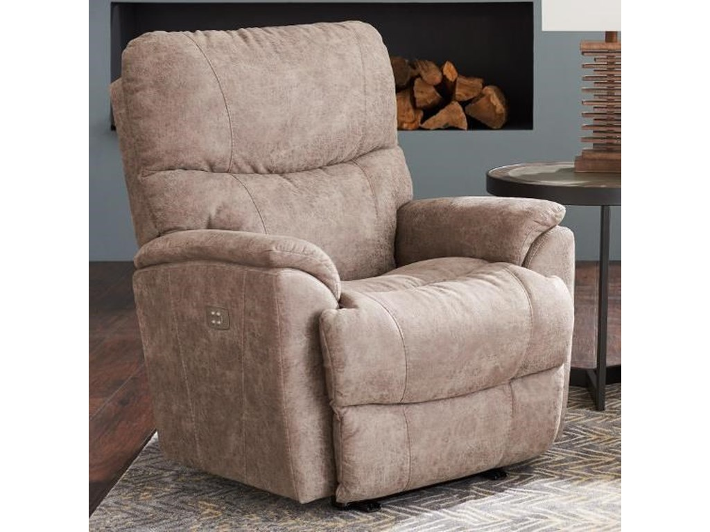 La-Z-Boy Trouper Power-Recline-XR Rocker Recliner with USB Charging ... c1b1e0a3d