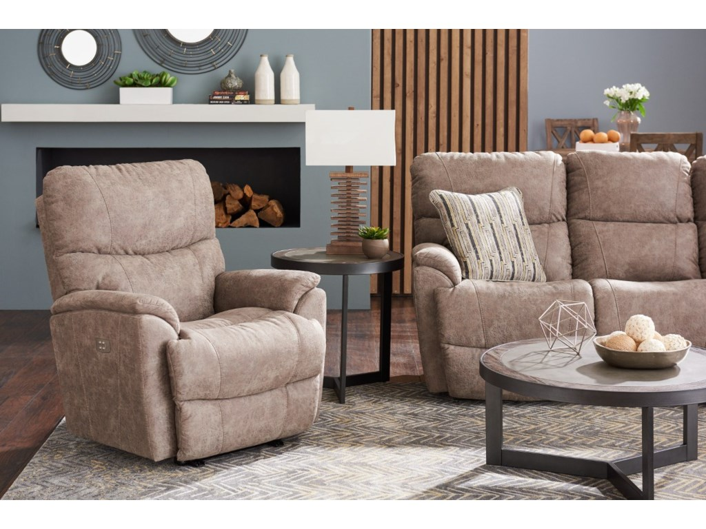 La-Z-Boy TrouperPower-Recline-Xrw Reclina-Way Recliner