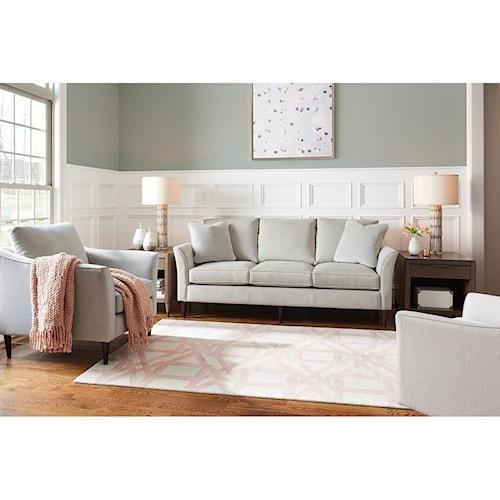 Living Room Violet Color la-z-boy violet living room group | louis mohana furniture
