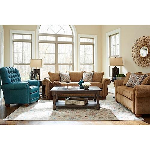 La-Z-Boy Wales Living Room Group