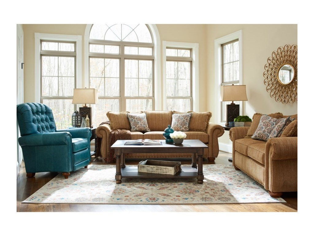 La-Z-Boy Wales Living Room Group | Conlin\'s Furniture | Stationary ...