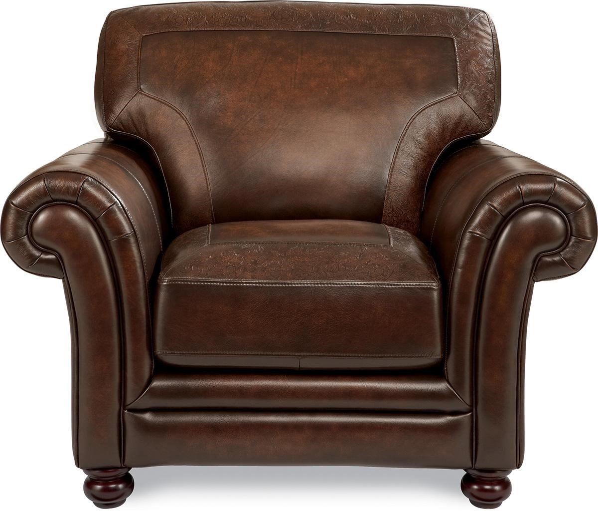 ... Traditional Stationary Chair. Leather Shown No Longer Available From  Manufacturer