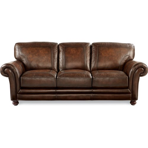 La-Z-Boy William Traditional Sofa With Loose Pillow Back