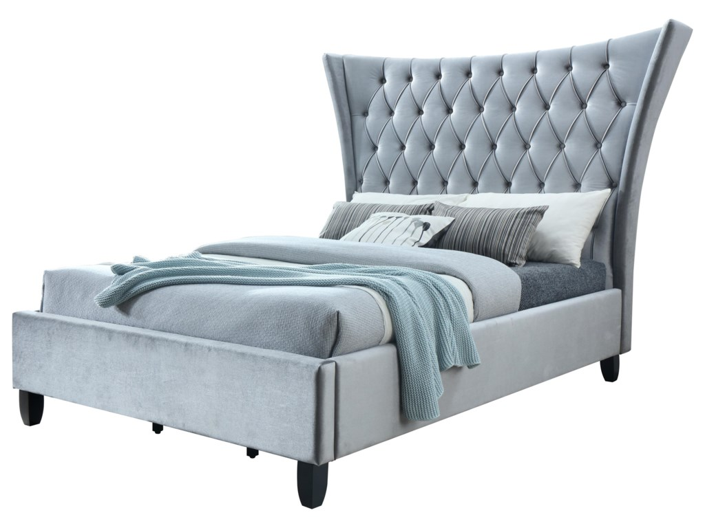 Lacey Furniture BiltmoreQueen Upholstered Bed