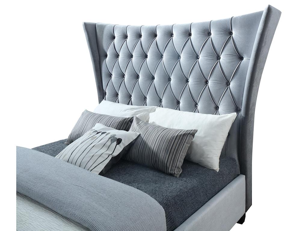 Lacey Furniture BiltmoreKing Upholstered Bed