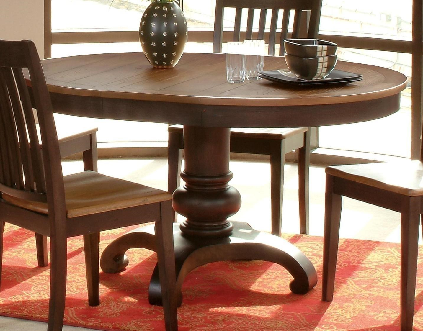 Morris Home Furnishings GraftonGrafton Dining Table Top U0026 Base