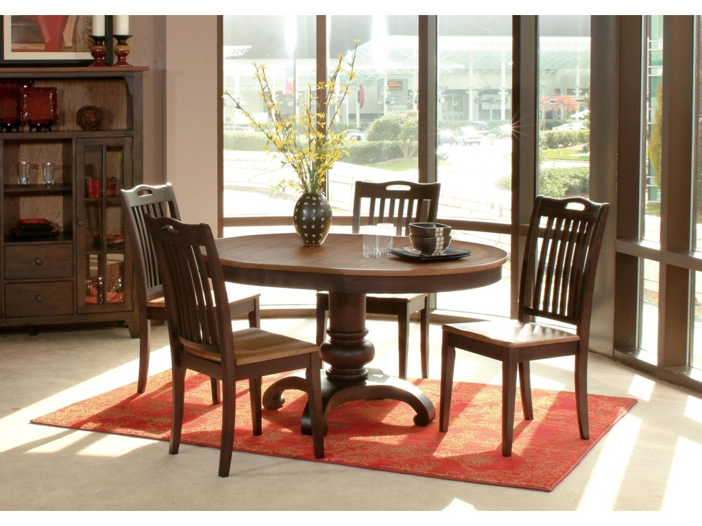 Lacquer Craft USA GraftonGrafton 5 Piece Dining Set