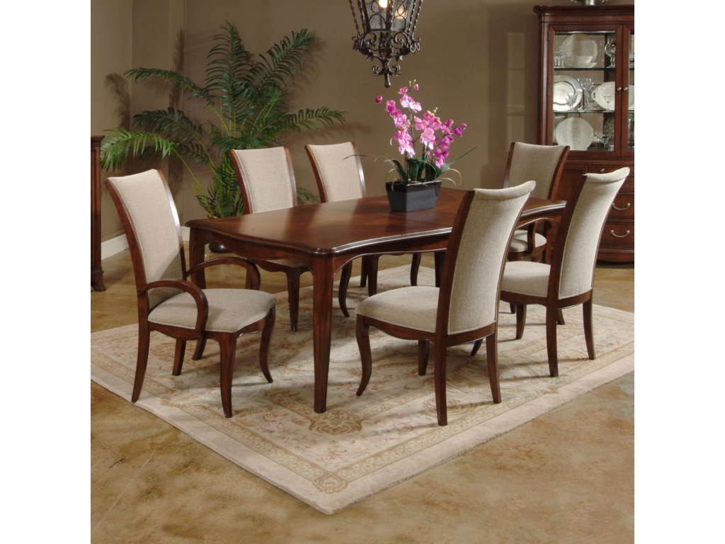 Shown with Dining Table and Arm Chairs