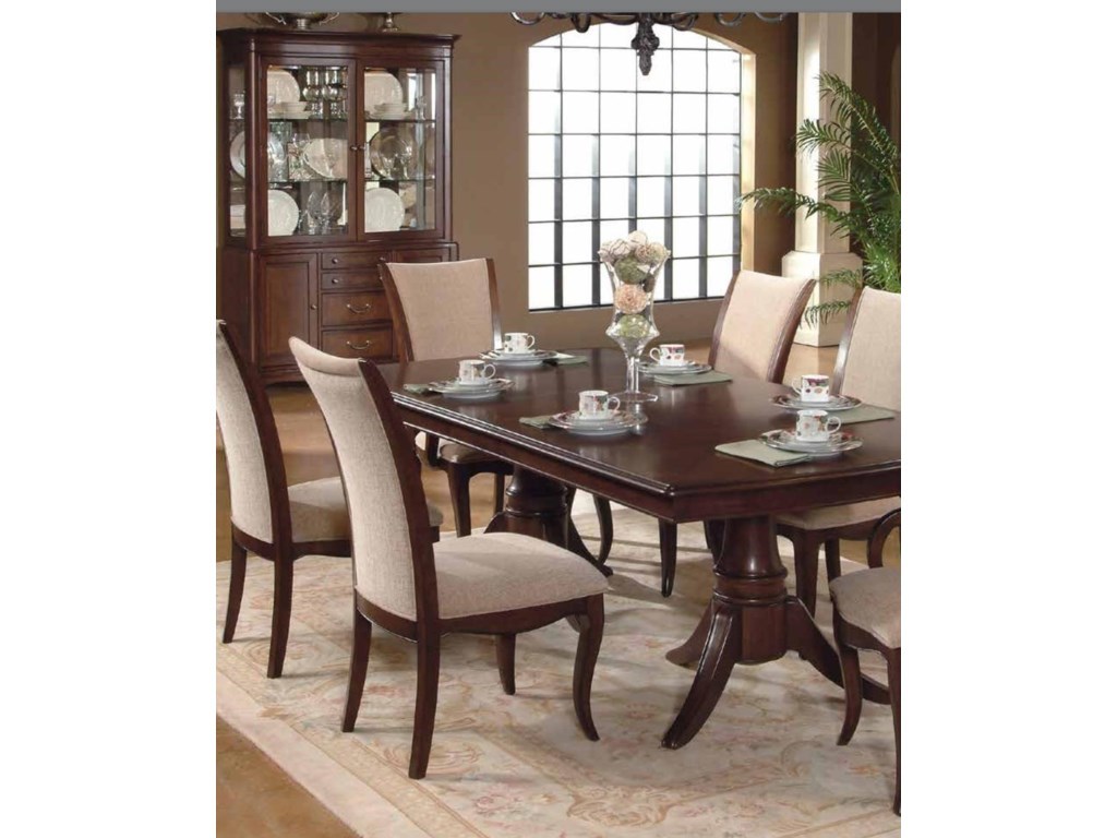 South Hampton 5 Piece Dining Set Includes Table And 4 Chairs