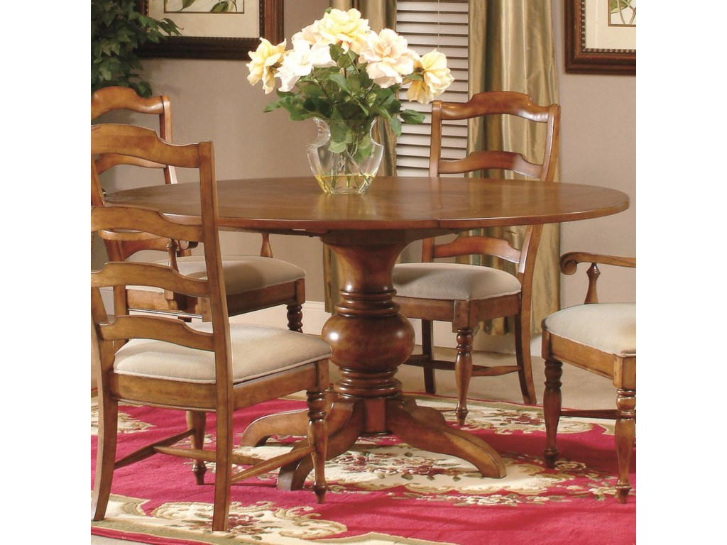 Harvest Round Pedestal Dinner Table | Royal Furniture ...