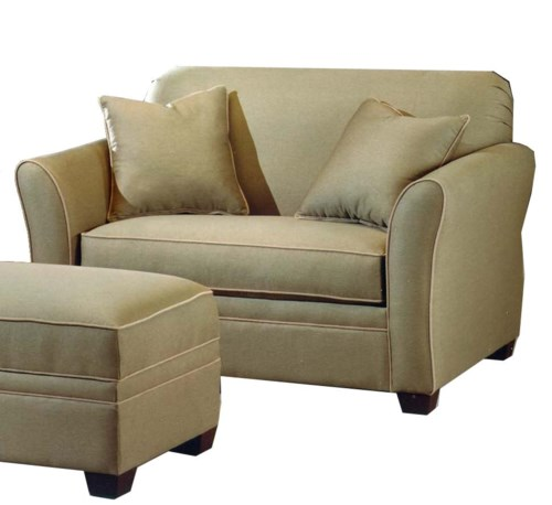Lacrosse 601 55 Twin Sofa Sleeper Boulevard Home Furnishings