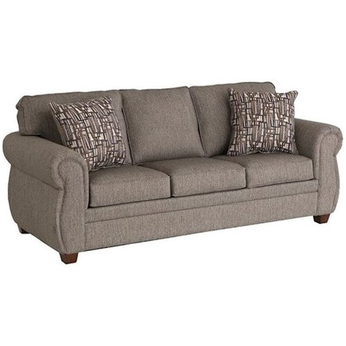 LaCrosse Calgary Queen Sleeper Sofa with Air Dream Deluxe Mattress | Boulevard Home Furnishings | Sleeper Sofas