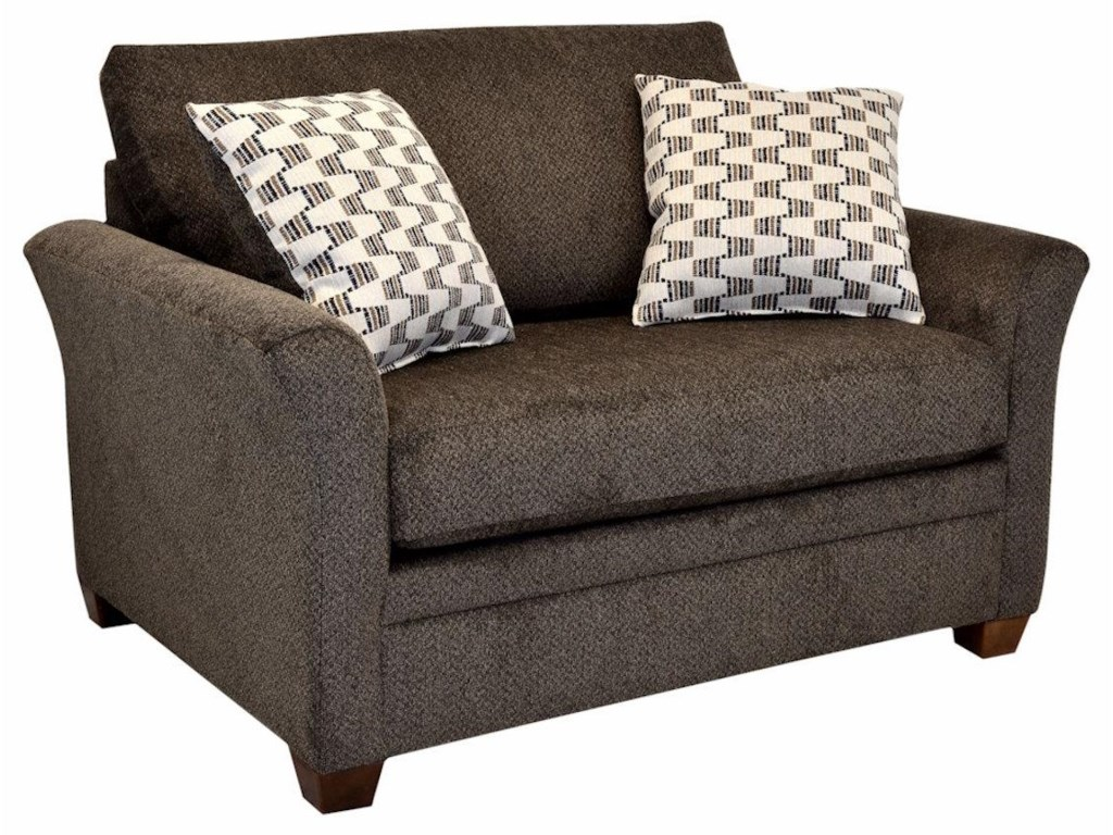 Captain Twin Sleeper Sofa by LaCrosse at Crowley Furniture & Mattress