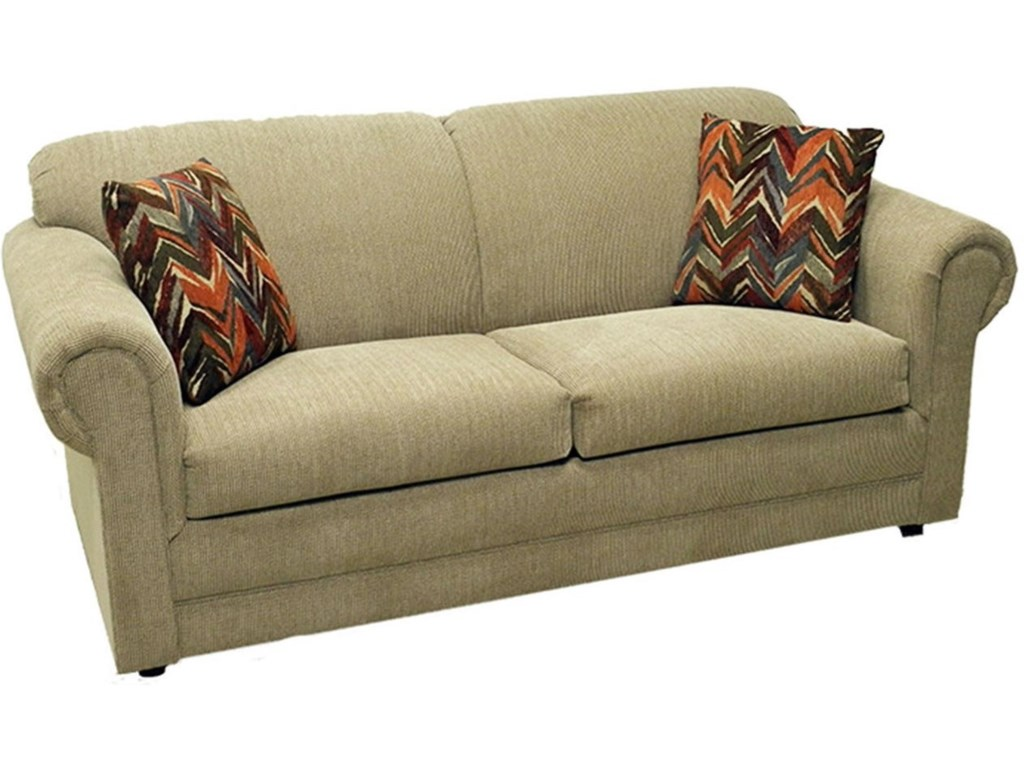LaCrosse Hayden Full Sofa Sleeper with Rolled Arms - Darvin Furniture - Sleeper Sofas