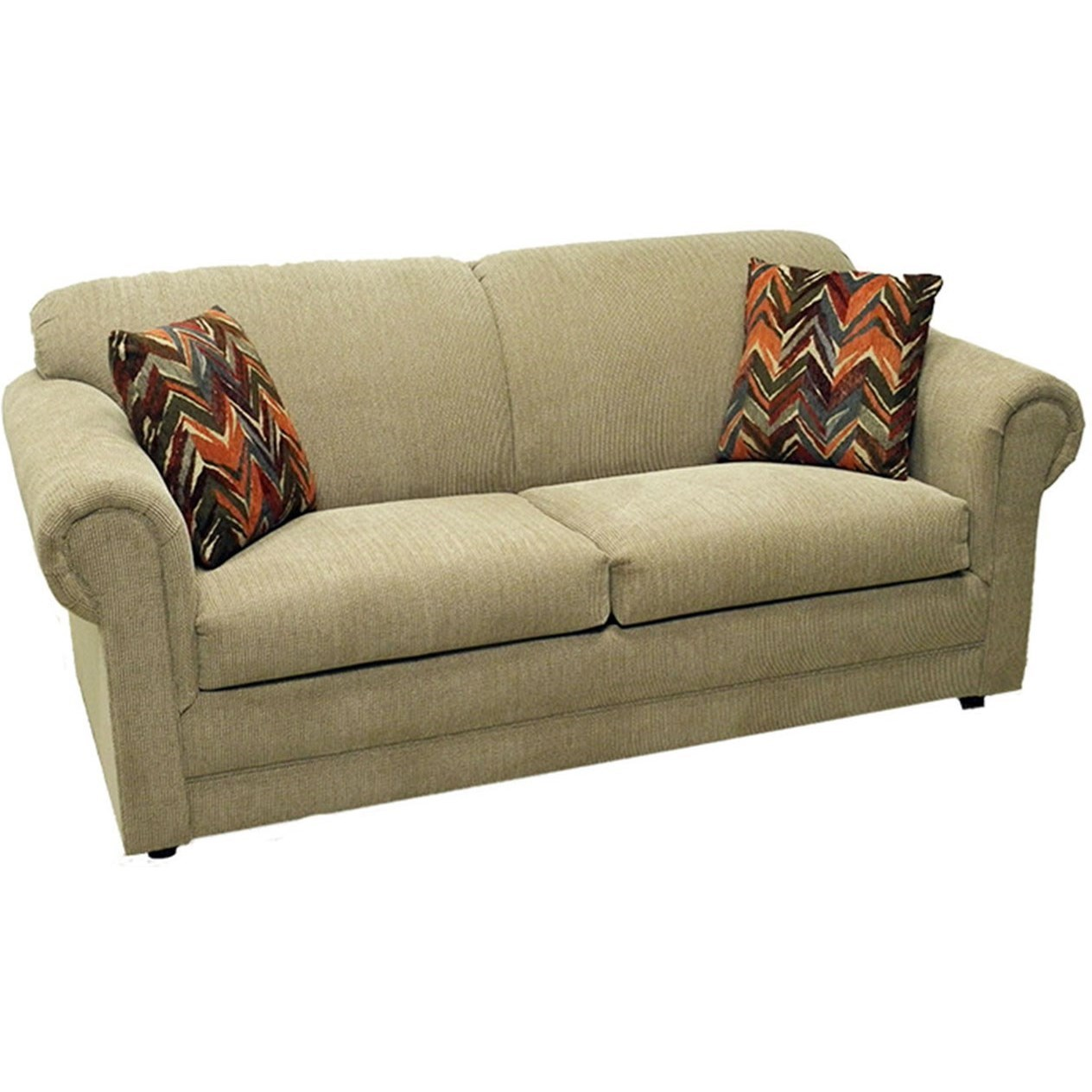 LaCrosse Hayden Full Sofa Sleeper With Rolled Arms
