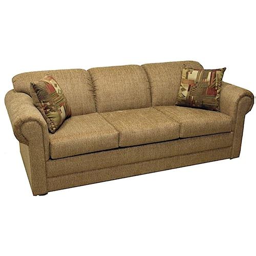 LaCrosse Hayden Queen Sofa Sleeper with Rolled Arms