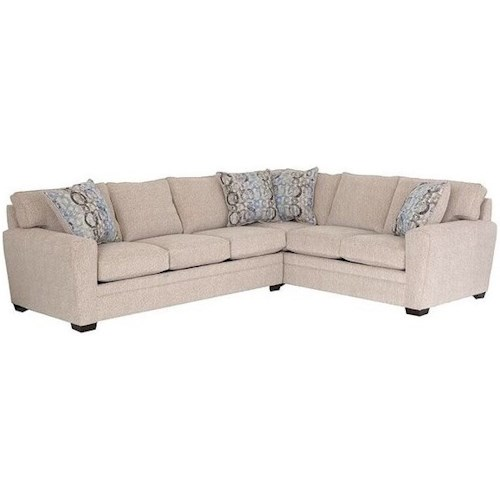 LaCrosse Manhattan Sectional Sofa with Queen Mattress | Boulevard Home Furnishings | Sectional Sofas