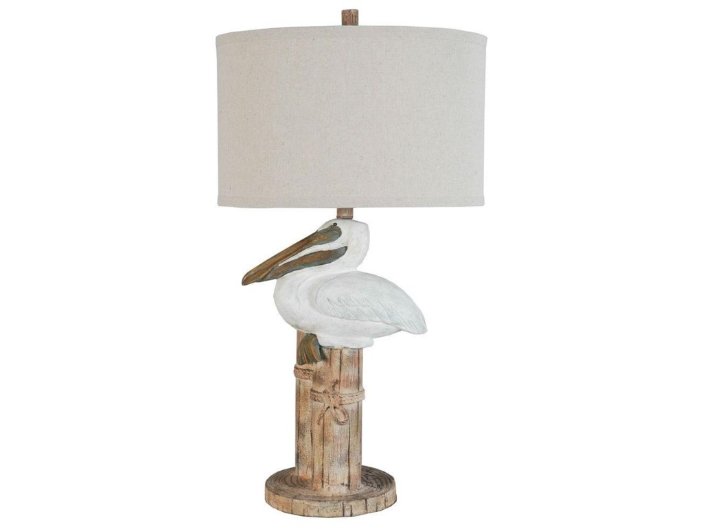Lamps Per Se 2018 CollectionLPS-122 Pelican Table Lamp