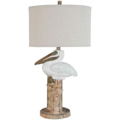 Lamps Per Se 2018 Collection LPS-122 Pelican Table Lamp