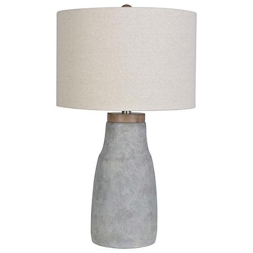 Lamps Per Se 2018 Collection LPS-231 Concrete Lamp