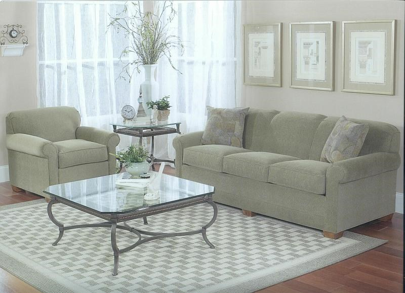 Shown in Living Room Setting with Matching Chair