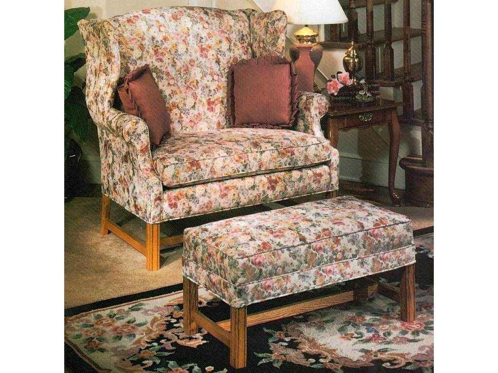 Star 1336Chair & 1/2 and Ottoman