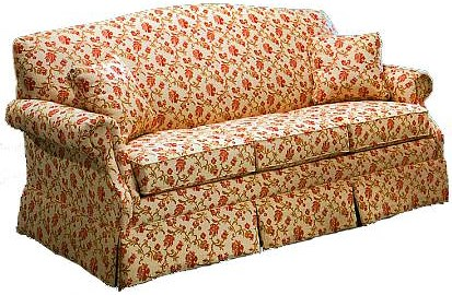 Lancer 1540 Stationary Short Sofa with Skirt