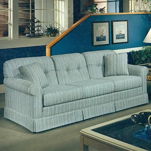 Lancer 2000 Casual Stationary Sofa with Tufted Seat Back