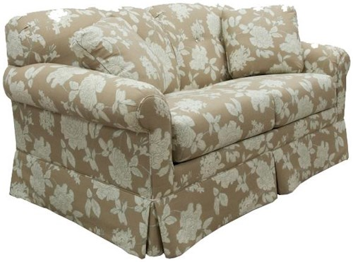 Lancer 2000 3/4 Twin Sleeper Sofa with Tufted Seat Back