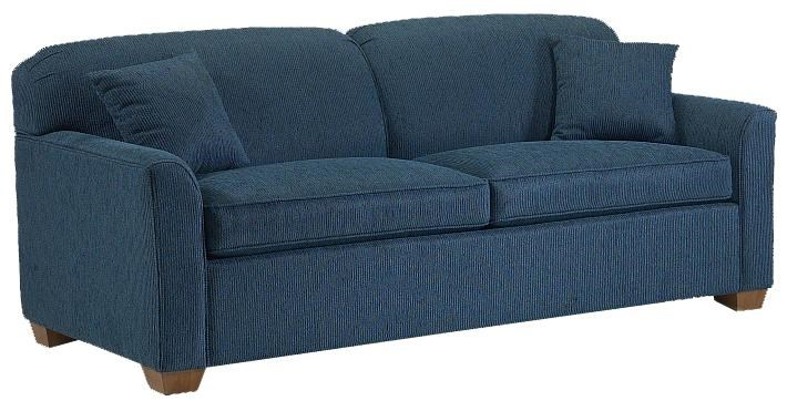 Lancer 2200 2200 Stationary Sofa With Block Feet Lapeer Furniture