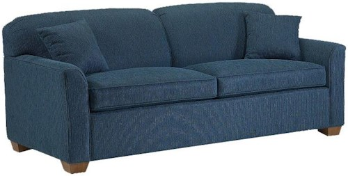 Lancer 2200 Stationary Sofa with Block Feet