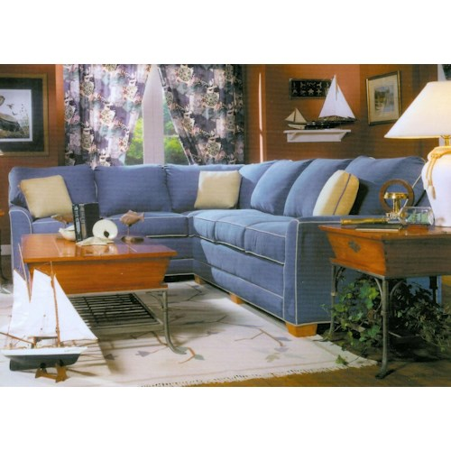 Lancer 2210 L-Shape Sectional Sofa Group