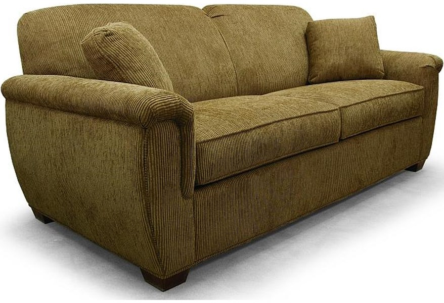 2550 Contemporary Queen Sleeper Sofa by Lancer at H.L. Stephens