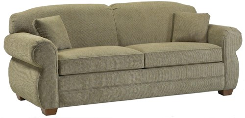 Lancer 2700 Queen Sleeper Sofa with Rolled Arms