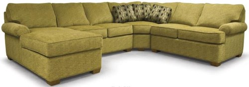 Lancer 310 Transitional 4-Piece Sectional