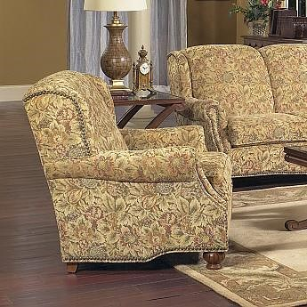 Lancer 5100 Traditional Chair with Tight Back and Turned Legs