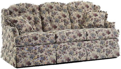 Lancer 600 Traditional Full Length Sofa with Skirt