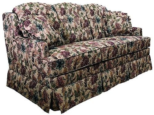 Lancer 600 Traditional Full Sleeper Sofa with Skirt