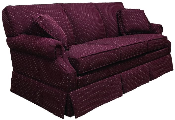 Lancer 650 Traditional Full Sleeper Sofa With Rolled Arms Hl